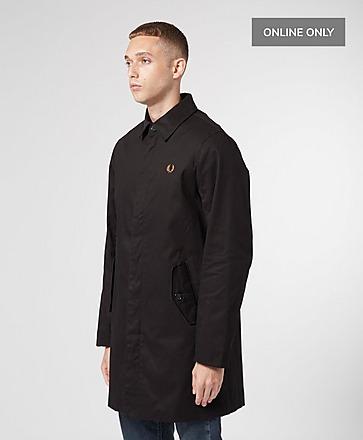Fred Perry Twill Zip Mac Jacket