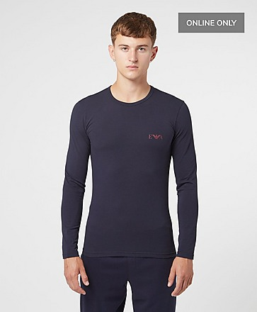 Emporio Armani Loungewear Monogram T-Shirt