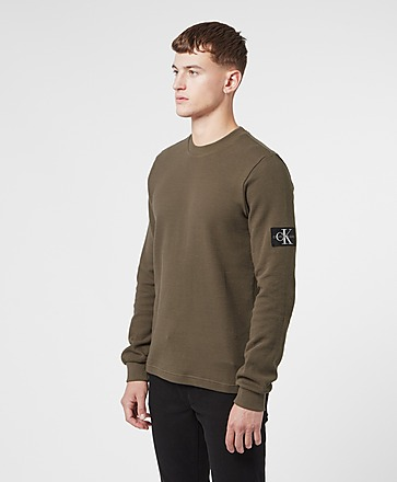 Calvin Klein Jeans Monogram Waffle T-Shirt