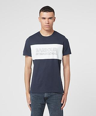 Barbour International Line Logo T-Shirt