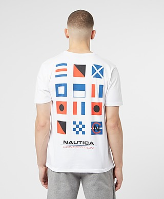 Nautica Competition Flagged T-Shirt