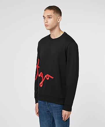 HUGO Side Script Sweatshirt