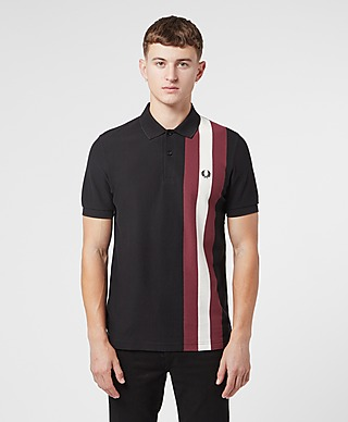 Fred Perry Bold Vertical Stripe Polo Shirt