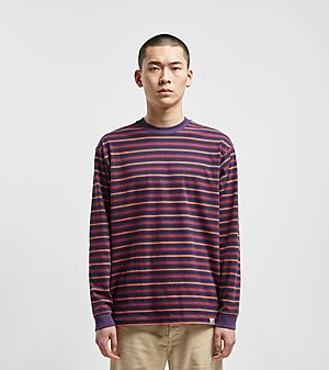 f6cfe30473 Carhartt WIP Korte Stripe Long Sleeve T-Shirt ...