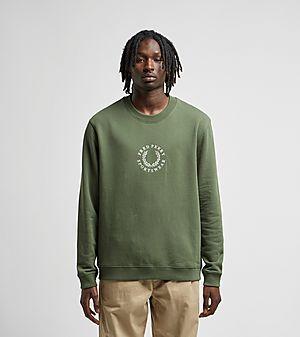 b0d8efb45 Fred Perry Global Branded Sweatshirt ...