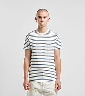 e5c59e05d Fred Perry Fine Stripe Short Sleeve T-Shirt ...