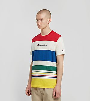 5ded9bfa Champion Engineered Stripe T-Shirt Champion Engineered Stripe T-Shirt