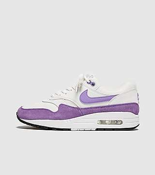 Buy New Nike Air Max 1 Essential Womens Grey Silver Pink