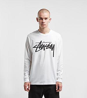 124395dc Stussy Stock Long Sleeved T-Shirt ...