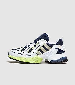 Billige Købe Dame Adidas Gazelle sko EQT Gul Hvid