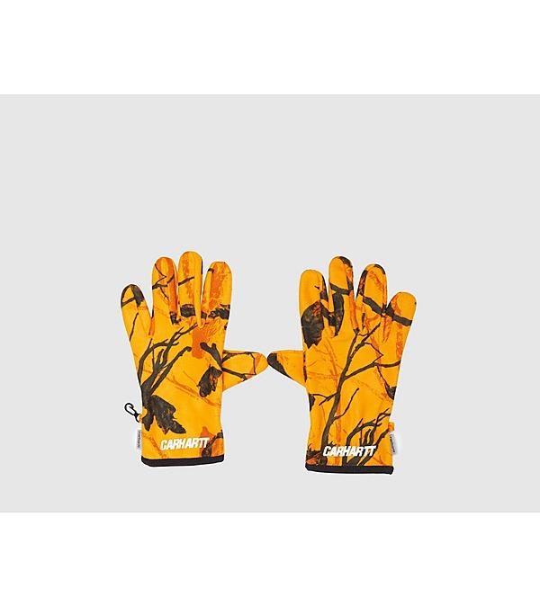 orange-carhartt-wip-beaufort-glove