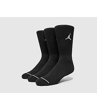 Jordan 3 Pack Crew Sokken