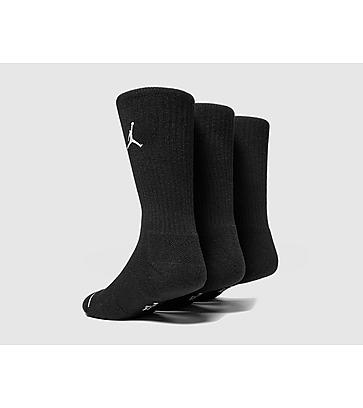 Jordan 3 Pack Crew Socken