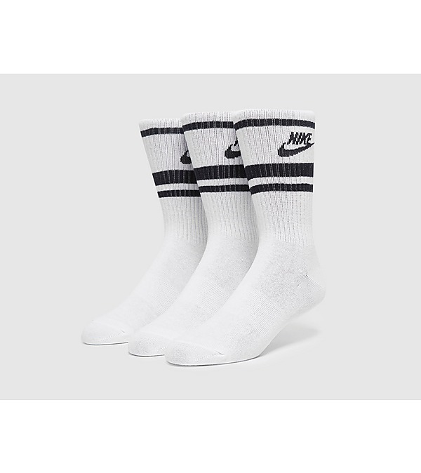 white-nike-3-pack-essential-crew-socks
