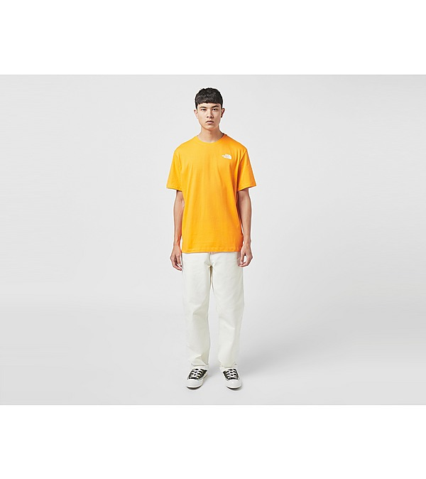 orange-the-north-face-redbox-t-shirt