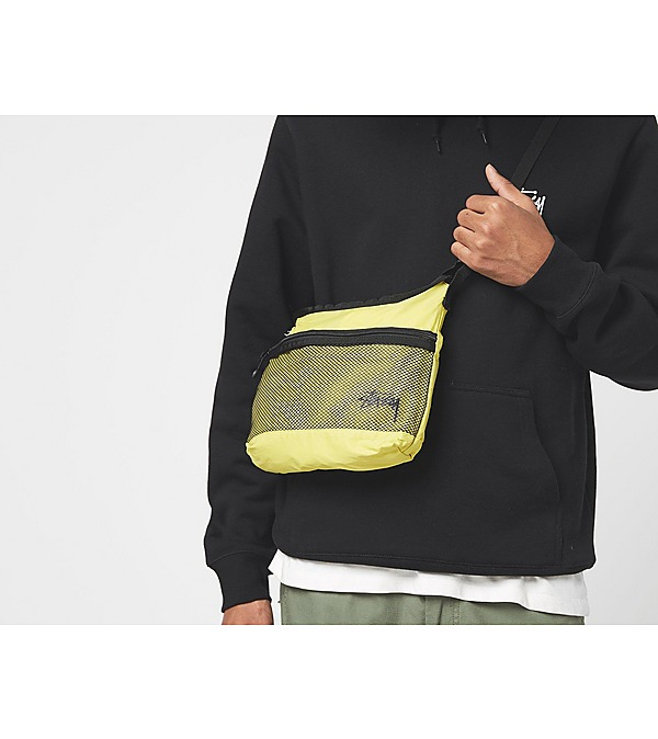 green-stussy-lightweight-shoulder-bag