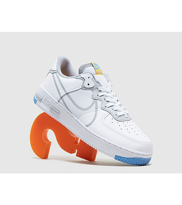 white-nike-air-force-1-react