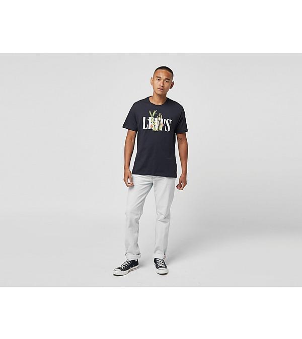 black-levis-serif-botanic-t-shirt