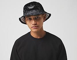 black-adidas-velvet-trefoil-bucket-hat