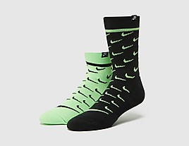 green-nike-2-pack-sneakr-sox-crew-socks