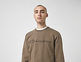 green-champion-washed-sweatshirt