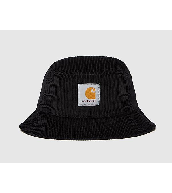 black-carhartt-wip-cord-bucket-hat