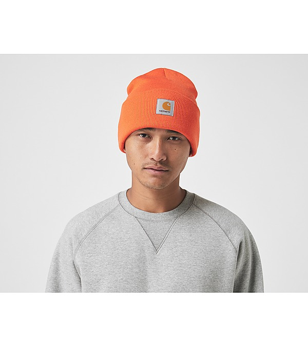 orange-carhartt-wip-watch-beanie