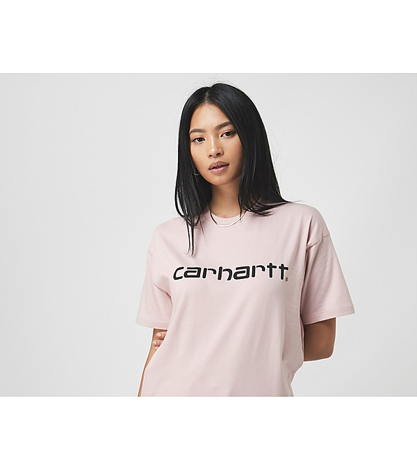 pink-carhartt-wip-script-t-shirt