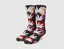 multi-huf-digital-plantlife-socks