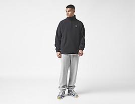 black-adidas-originals-adicolor-polar-fleece-half-zip