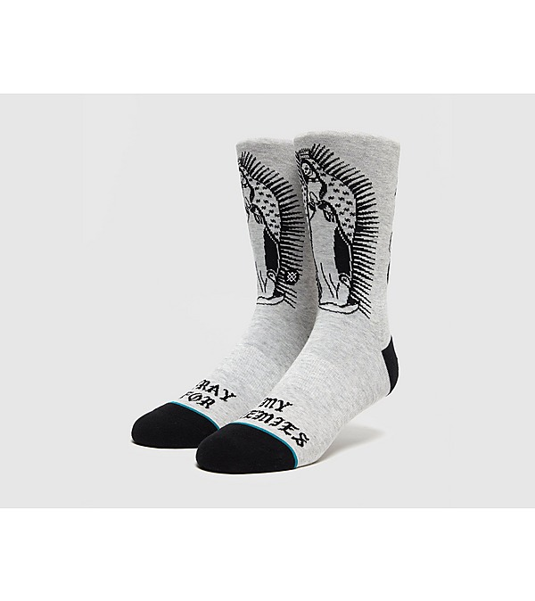 grey-stance-pray-for-enemies-socks