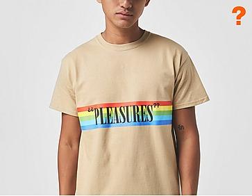 Pleasures Roads Logo T-Shirt - size? Exclusive