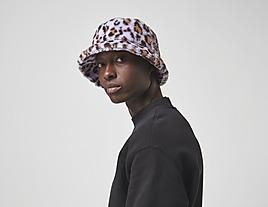 multi-kangol-faux-fur-bucket-hat