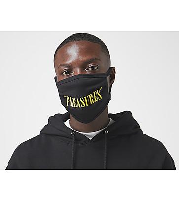 Pleasures Logo Face Covering