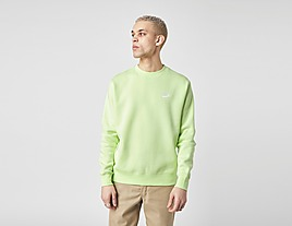green-nike-club-crew-sweatshirt