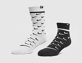 black-nike-2-pack-swoosh-socks