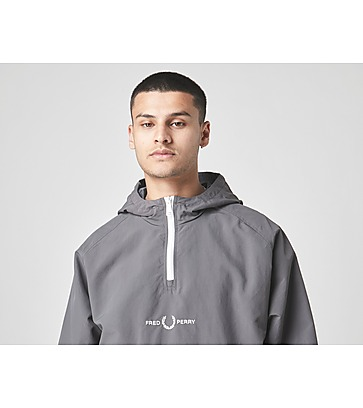 Fred Perry Embroidered Half Zip Jacket