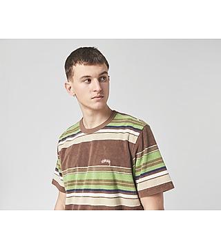 Stussy Hudson Stripe Crew T-Shirt