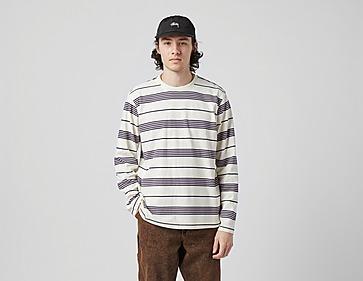 Stussy Asher Stripe Long Sleeve Crew