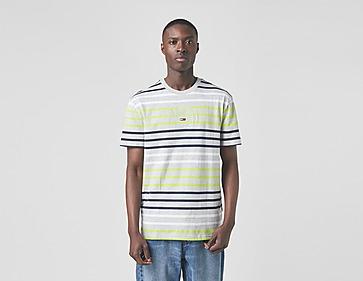 Tommy Jeans Multicolour Stripe Logo T-Shirt