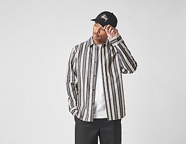 Huf F*** It Stripe Long Sleeve Woven Top