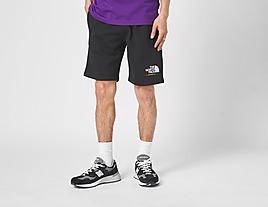 black-the-north-face-rainbow-shorts
