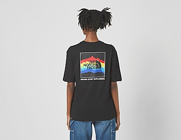 The North Face Rainbow T-Shirt Women's