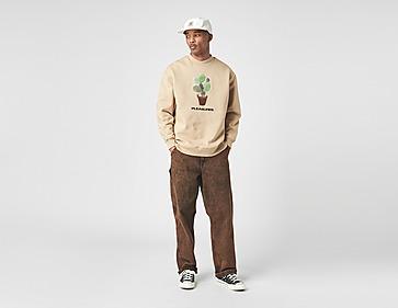 Pleasures Spike Embroidered Crew Sweatshirt