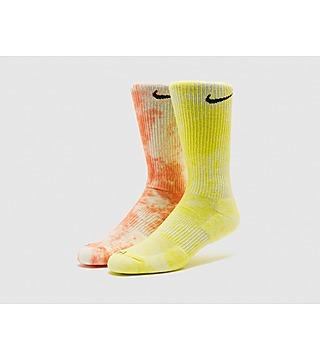 Nike 2-Pack Everyday Plus Tie-Dye Crew Socks