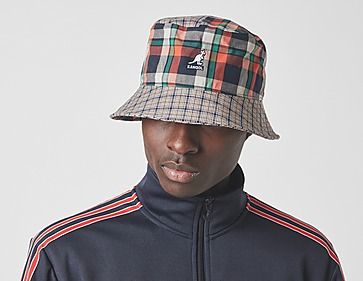 Kangol Plaid Bucket Hat