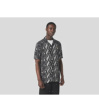 Fred Perry Chemise Snake Print Revere