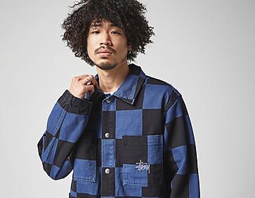 Stussy Big Ol Check Chore Coat