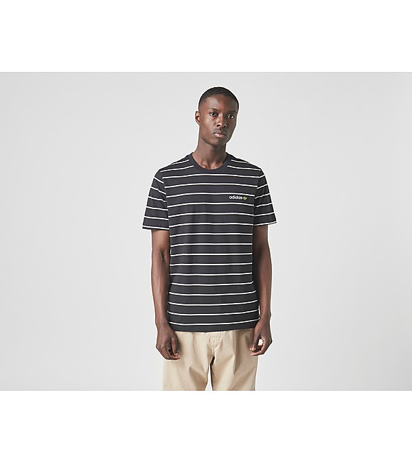 black-adidas-originals-linear-stripe-t-shirt
