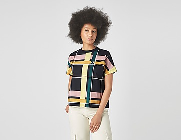 Fred Perry Check Print T-shirt